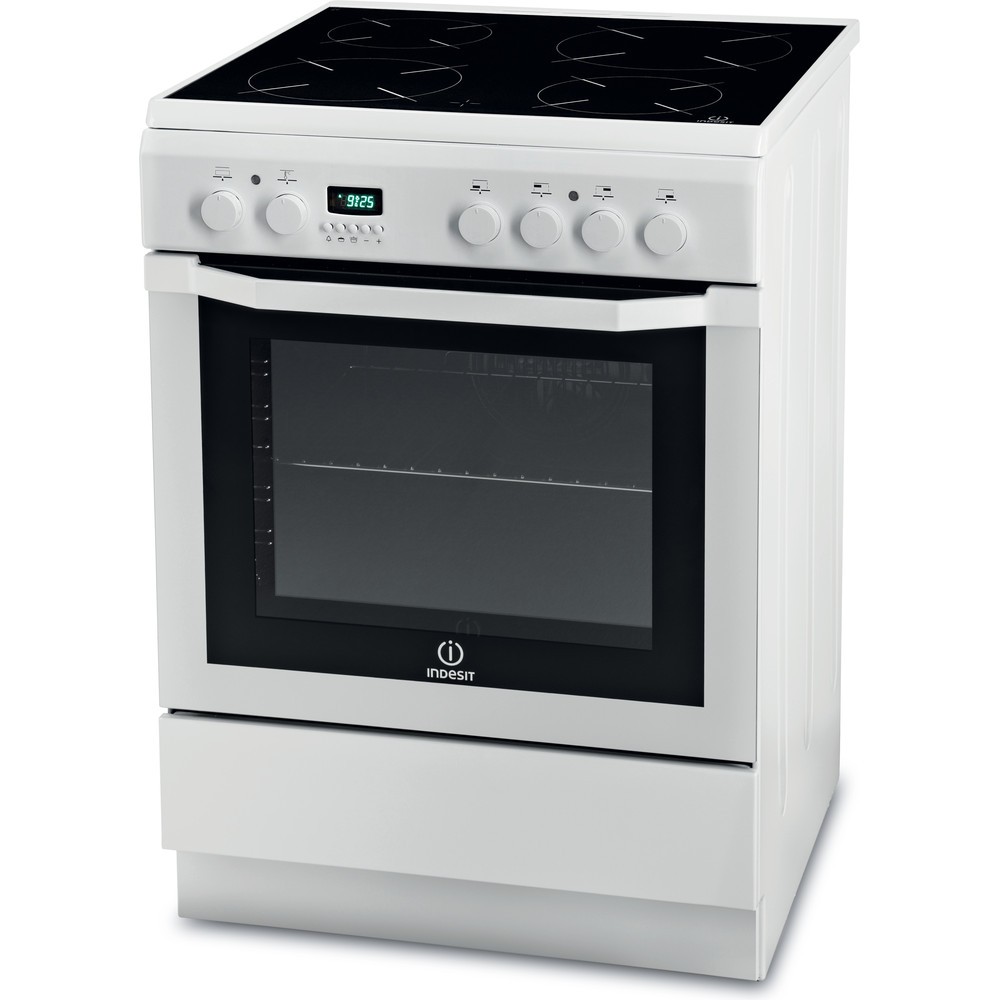 Indesit Готварска печка I6VMC6A(W)/GR Бял Electrical Perspective