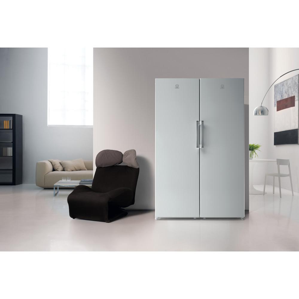 Indesit Réfrigérateur Pose-libre SI4 1 W1 Blanc Lifestyle frontal