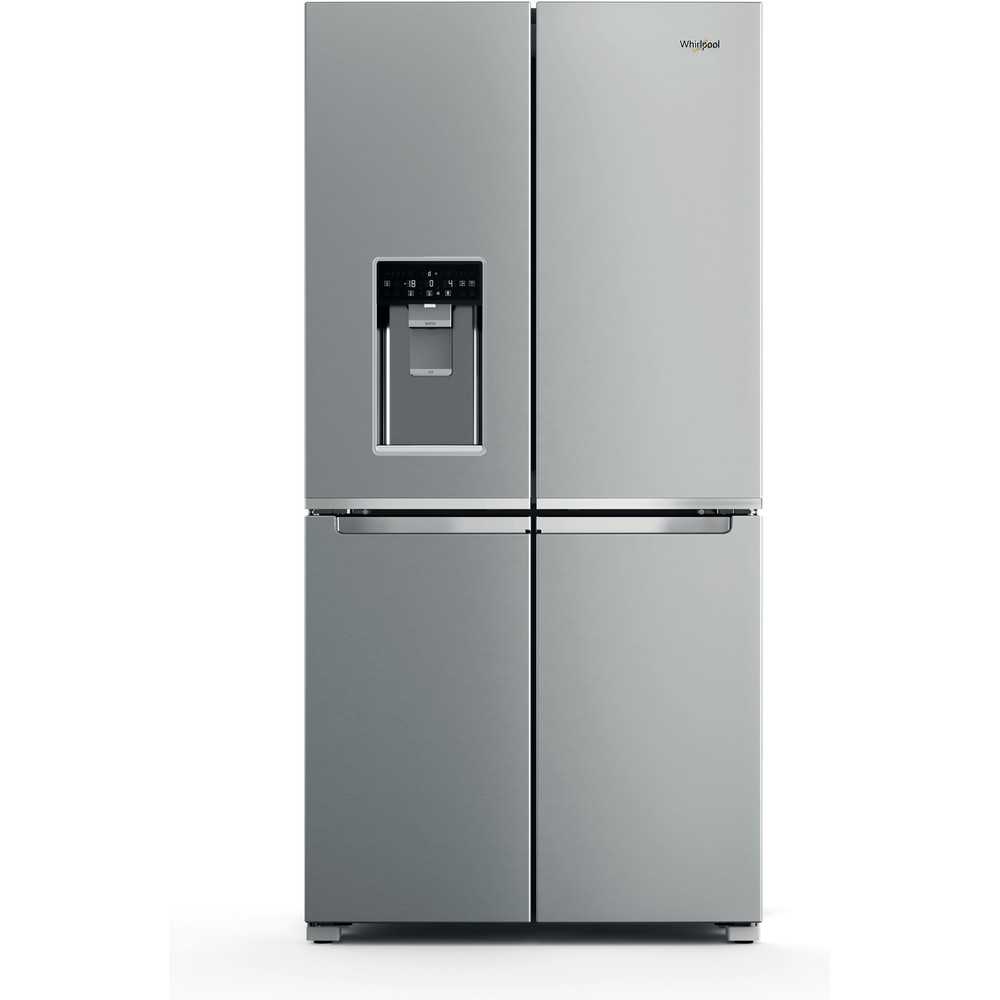 Whirlpool W Collection WQ9I MO1L UK Fridge Freezer - Stainless Steel