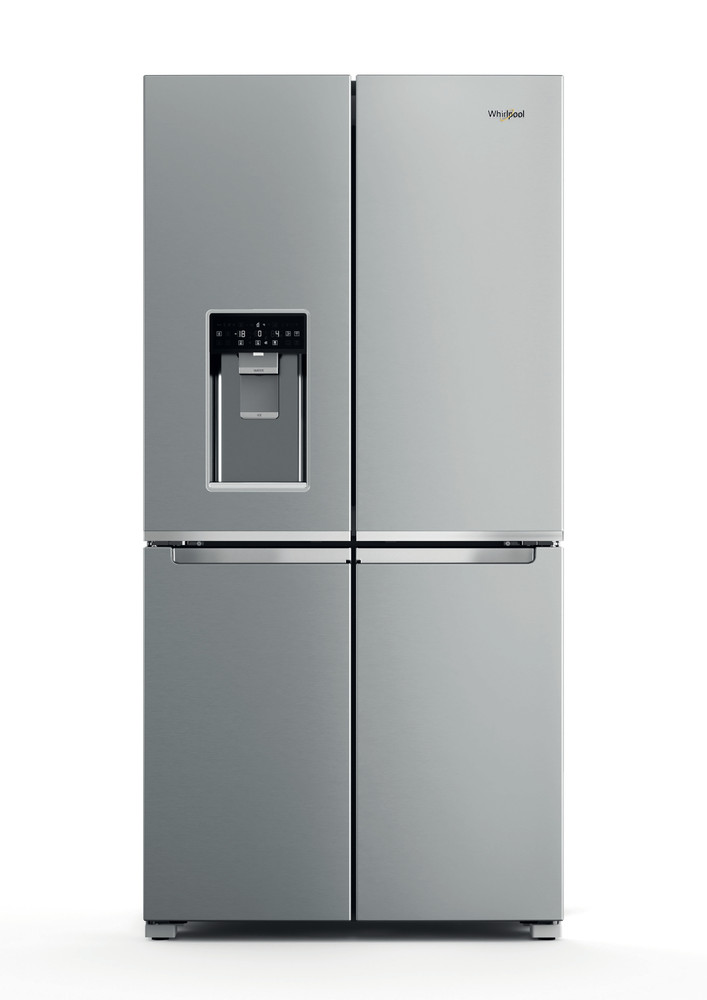 Whirlpool Side-by-Side Free-standing WQ9I MO1L UK Stainless Steel Frontal