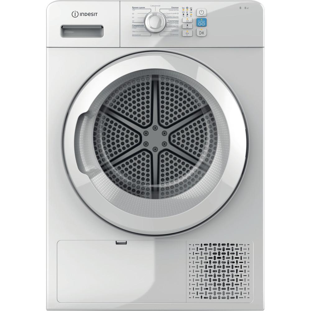 Indesit Сушильная машина YT CM08 8B RU Белый Frontal