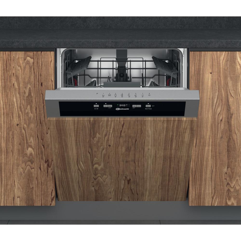 Bauknecht Dishwasher Einbaugerät BKBC 3C26 X Teilintegriert E Frontal