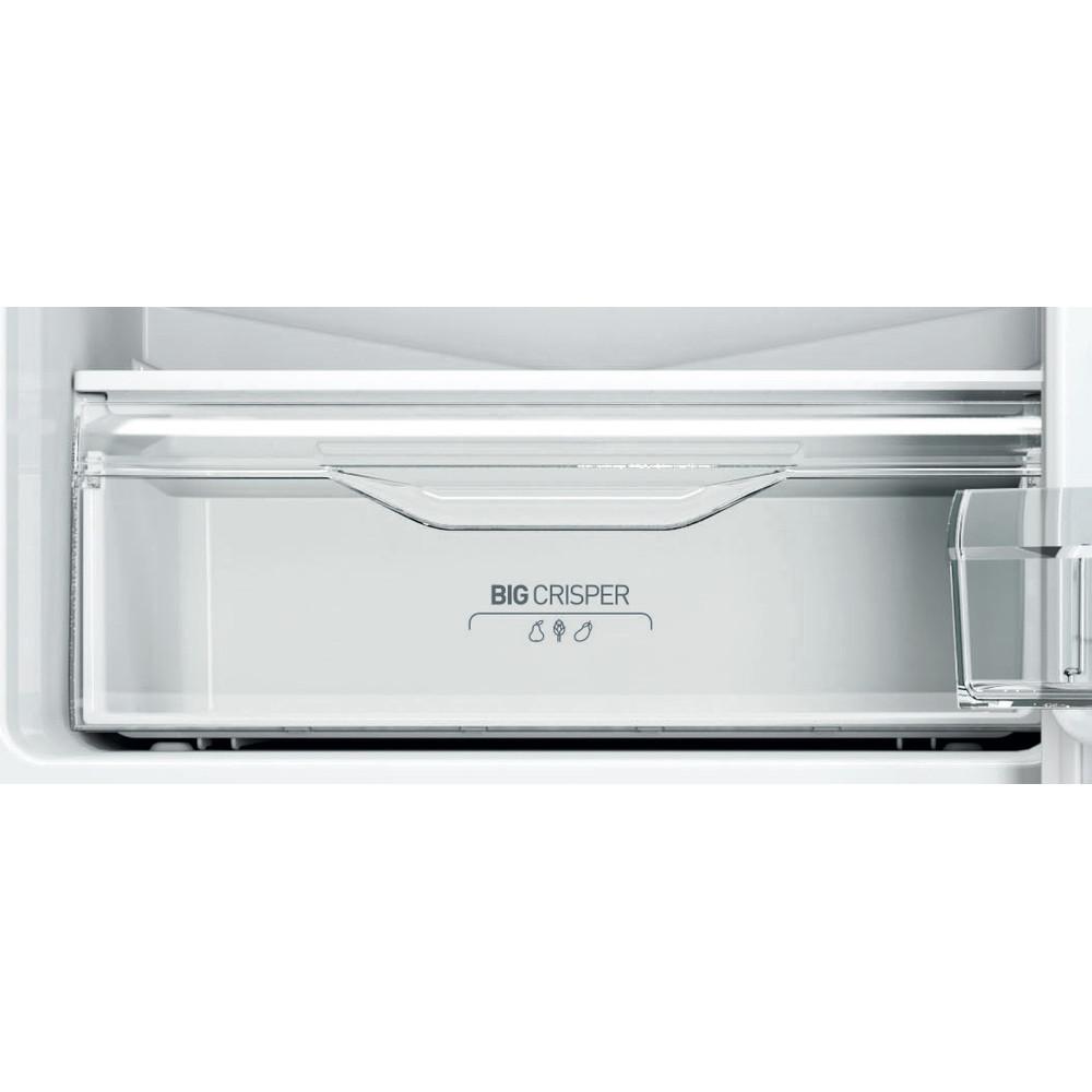 Indesit Холодильник с морозильной камерой Отдельно стоящий LI8 FF2 X Inox 2 doors Drawer