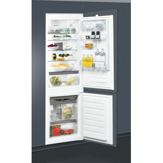 Whirlpool Kombinētais ledusskapis/saldētava Iebūvējams ART 6711 SF2 Balta 2 doors Lifestyle perspective open