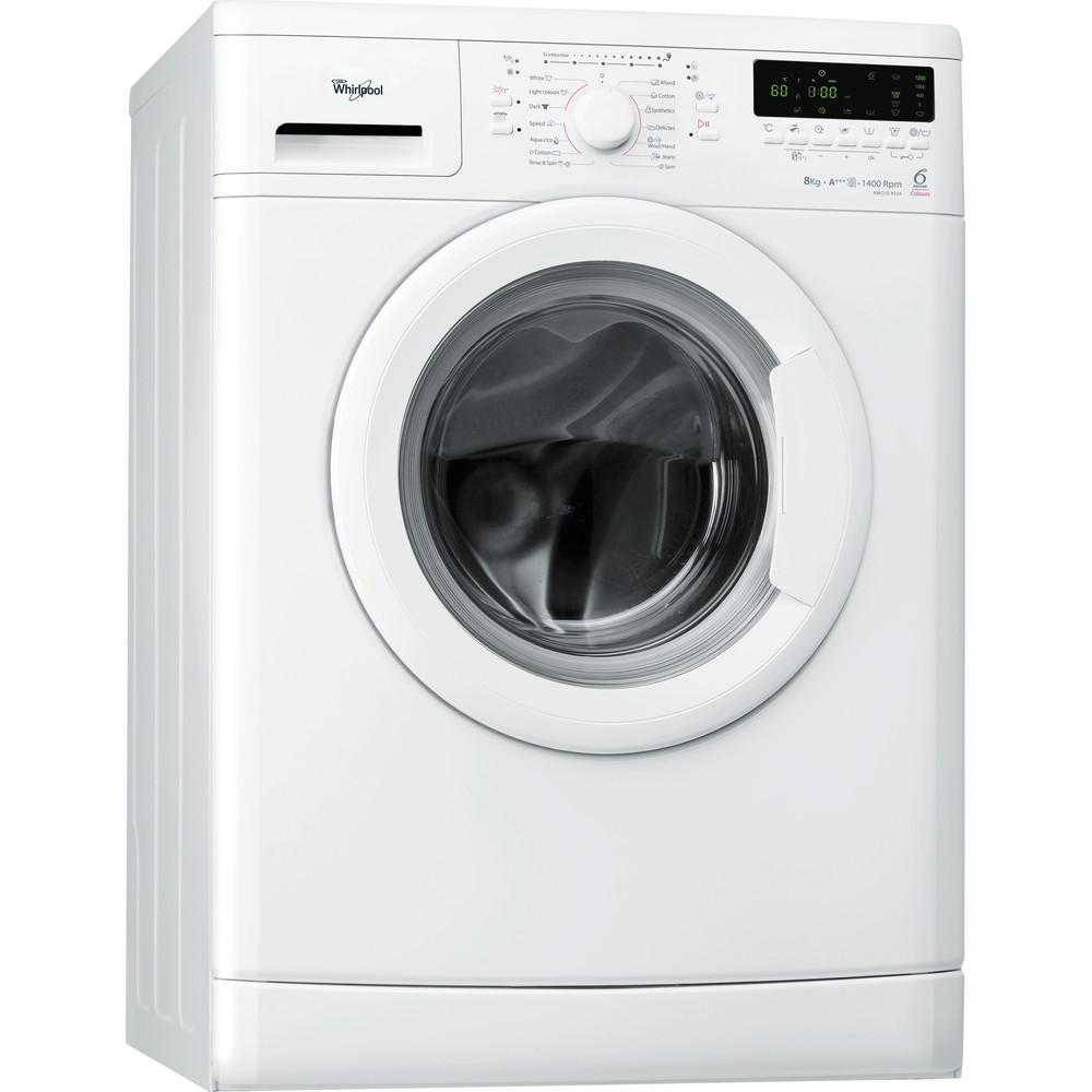 Whirlpool frontmatad tvättmaskin: 8 kg - AWO/D 8324