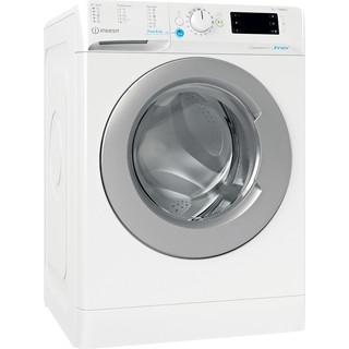 Indesit Tvättmaskin Fristående BWE 91484X WS EU N White Front loader C Perspective