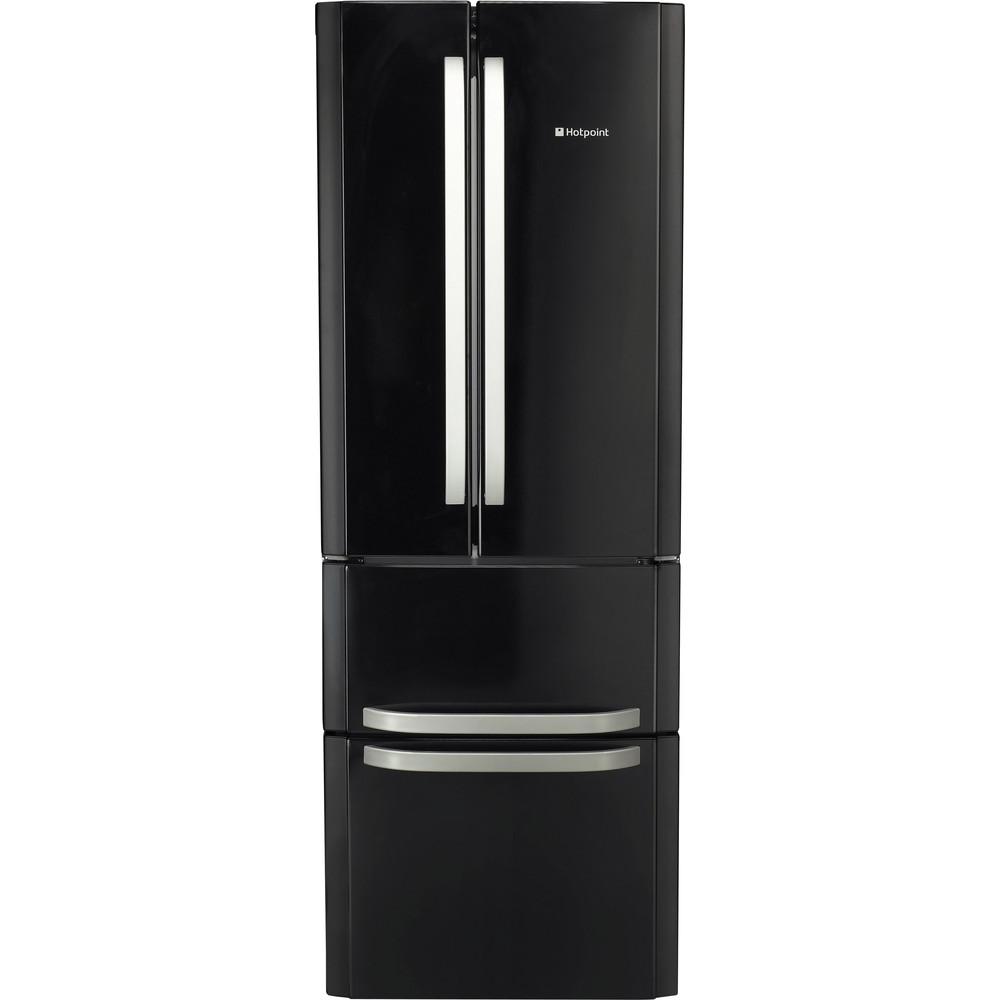 Hotpoint Fridge Freezer Free-standing FFU4D K 1 Black 2 doors Frontal