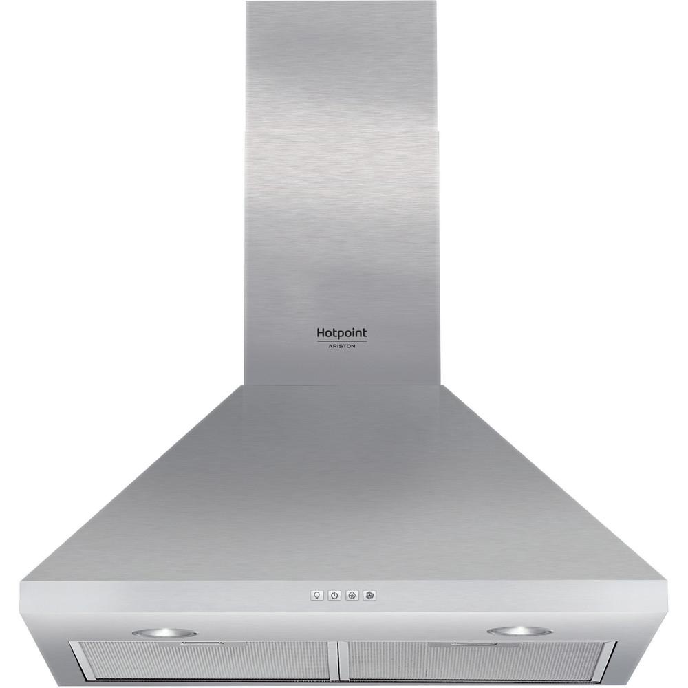 Hotpoint_Ariston Cappa Da incasso HHPC 6.5F AM X Inox Montaggio a parete Meccanico Frontal