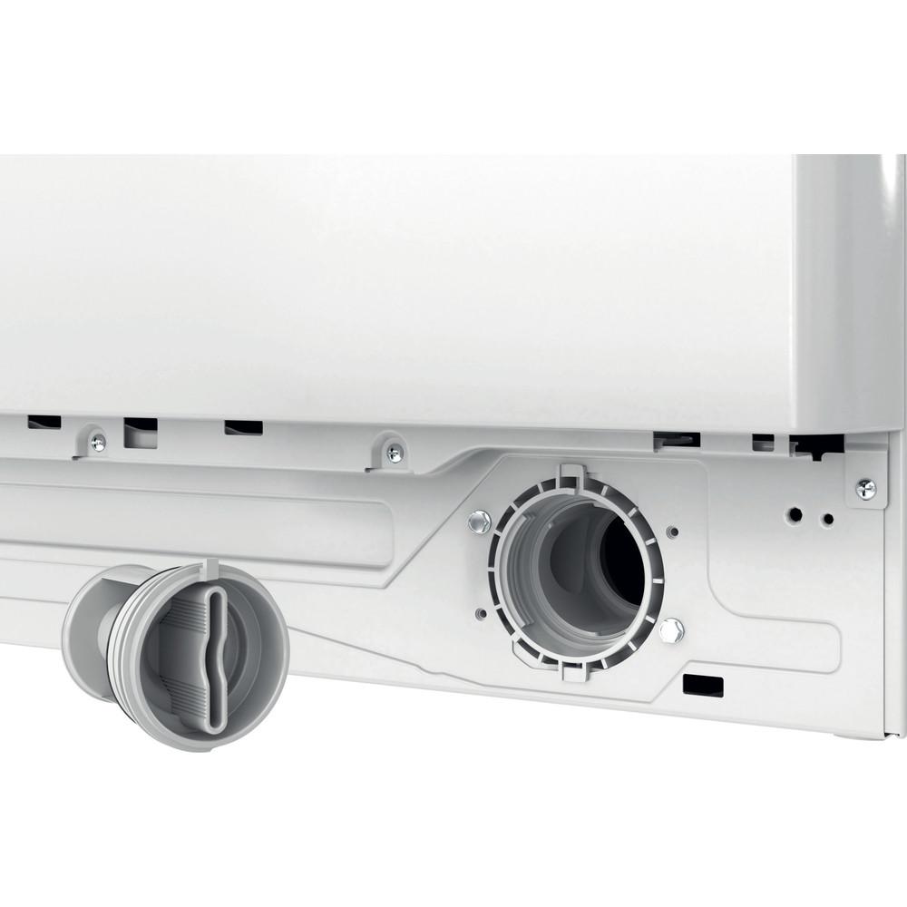 Indesit Washing machine Free-standing BWE 91683X W UK N White Front loader D Filter