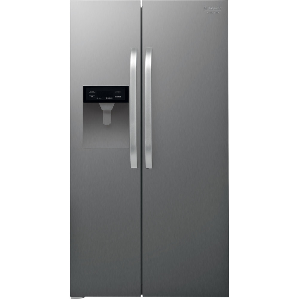 Hotpoint_Ariston Side-by-Side Libre instalación SXBHAE 924 WD 1 Inox Look Frontal