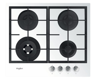 Whirlpool plinska kuhalna plošča: 4 plinski gorilniki - GOFL 629/WH