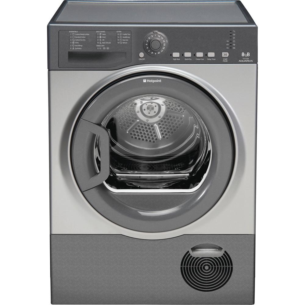 Hotpoint Dryer TCFS 83B GG.9 (UK) Graphite Frontal