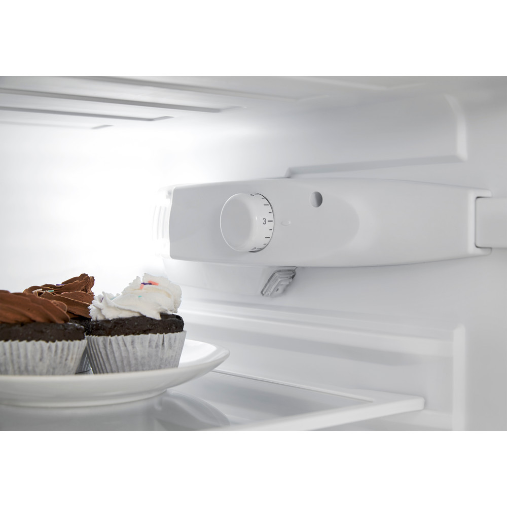 Indsit Racitor-congelator combinat Independent CAA 55 NX 1 Inox 2 doors Lifestyle control panel