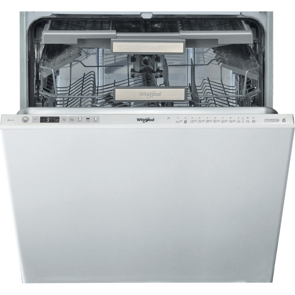 Whirlpool SupremeClean WIO 3O33 DEL Built-In Dishwasher A+++ 14 Place