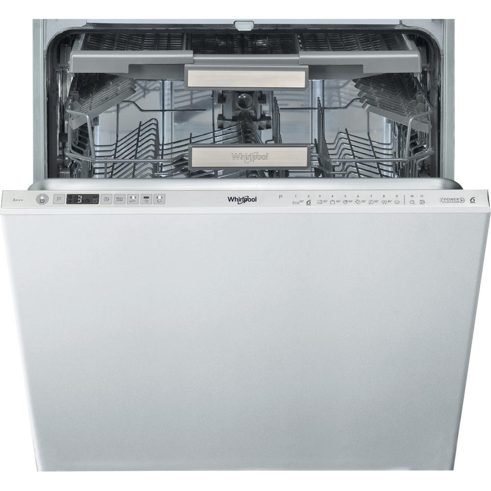 Whirlpool integrert oppvaskmaskin: farge stål, 60 cm - WCIO 3T333 DEF