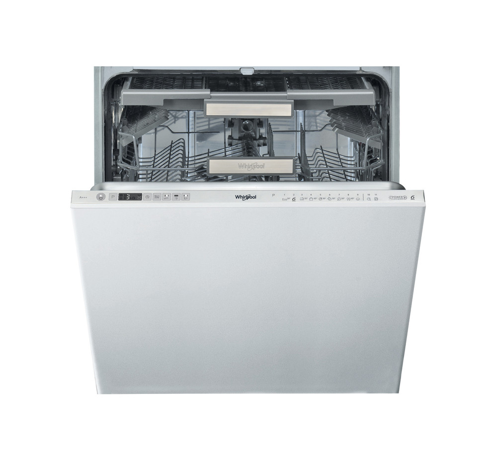 Whirlpool Dishwasher Built-in WIO 3O33 DEL UK Full-integrated A+++ Frontal