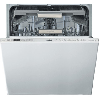 Whirlpool integrated dishwasher: inox color, full size - WIO 3O33 DEL UK