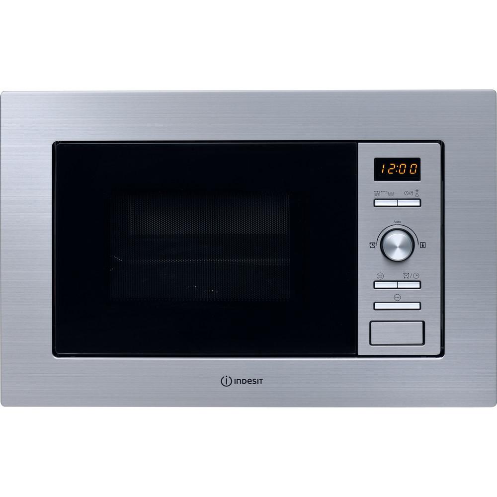 Indesit Microonde Da incasso MWI 122.2 X Inox Elettronico 20 Microonde + grill 800 Frontal