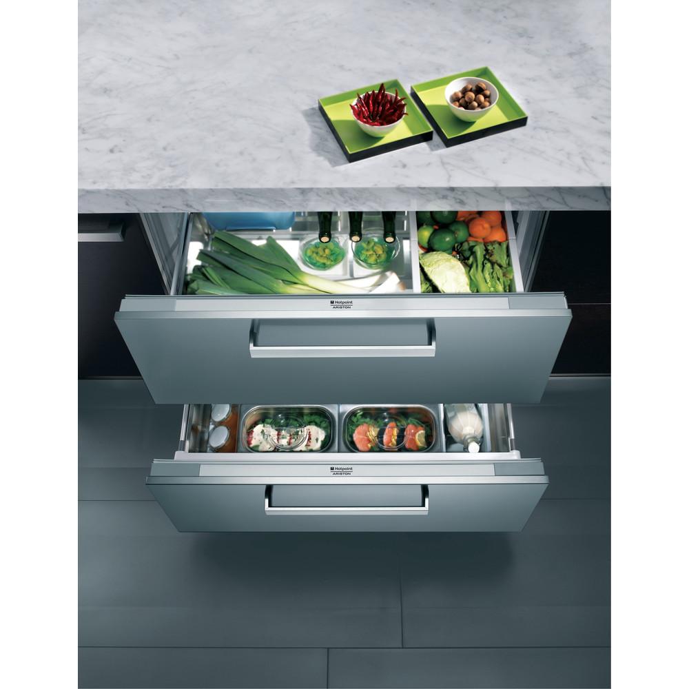 Hotpoint_Ariston Холодильник Встраиваемая BDR 190 AAI/HA Белый Drawer