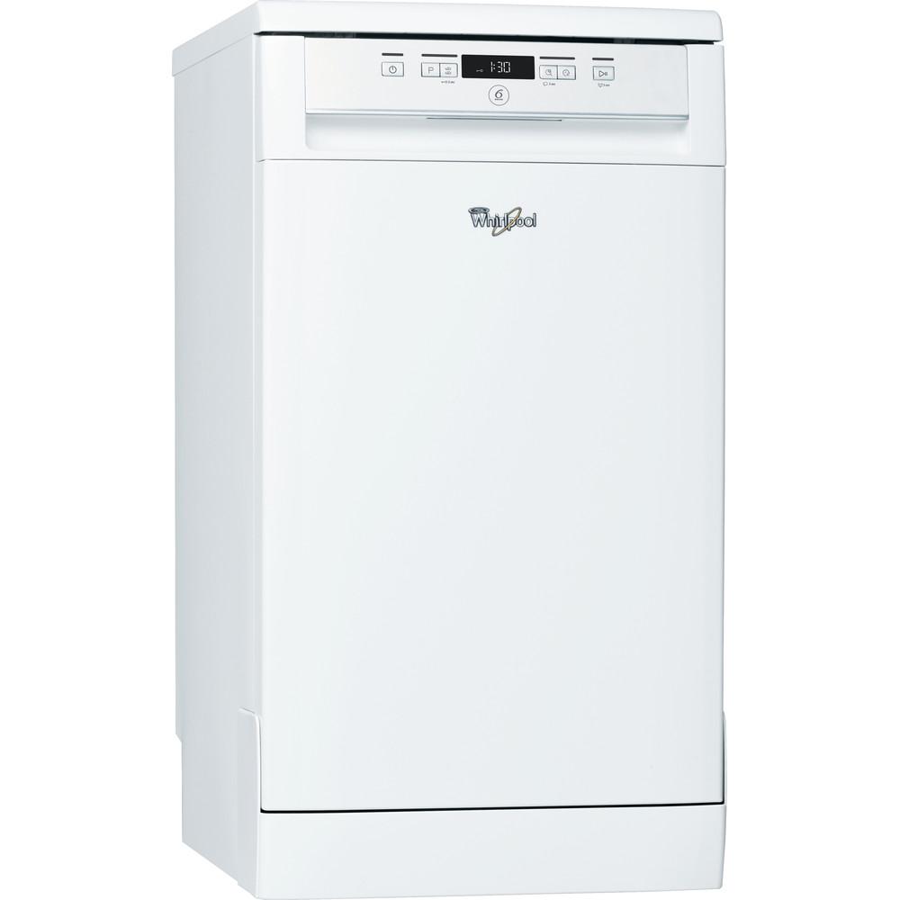 Посудомийна машина Whirlpool: білий колір, вузька - ADP 422 WH