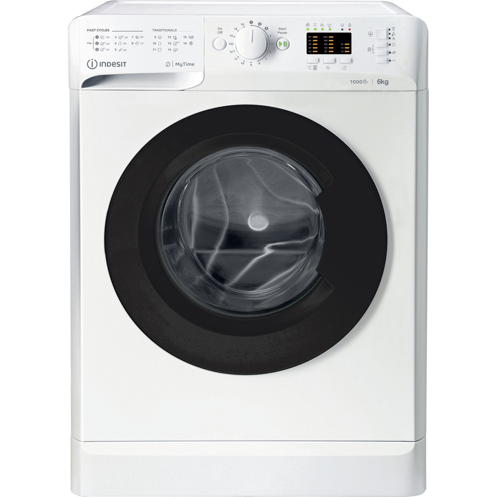 Indesit Пральна машина Соло OMTWSA 61053 WK EU Білий Front loader A+++ Frontal