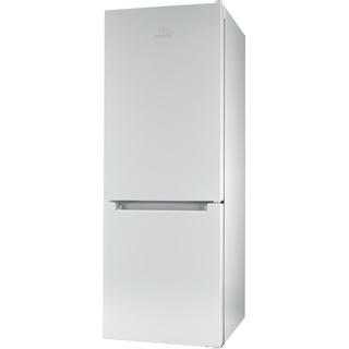 Indesit Kombinovaná chladnička s mrazničkou Voľne stojace LR6 S2 W Biela 2 doors Perspective