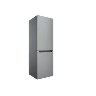 Indesit Combinación de frigorífico / congelador Libre instalación INFC8 TA23X Inox 2 doors Perspective