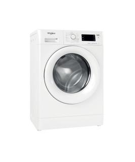 Vapaasti sijoitettava edestä täytettävä Whirlpool pyykinpesukone: 7 kg - FWSG 71283 WV EE N