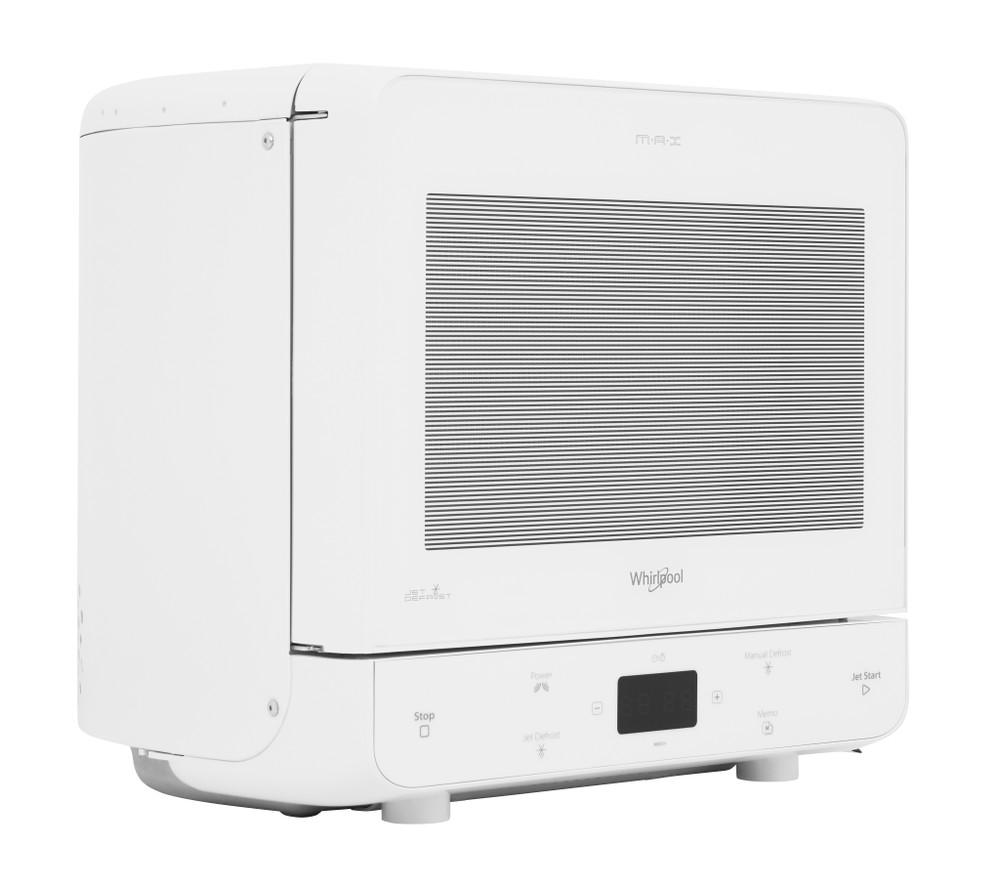 Whirlpool Mikroaaltouuni Vapaasti sijoitettava MAX 34 FW Valkoinen Elektroninen 13 Vain mikroaaltotoiminnot 700 Perspective