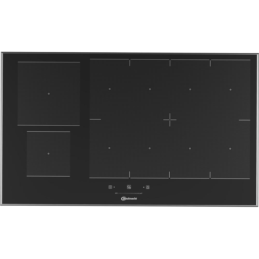 Bauknecht Table de cuisson CTAC 8905AFS AL Noir Induction vitroceramic Frontal