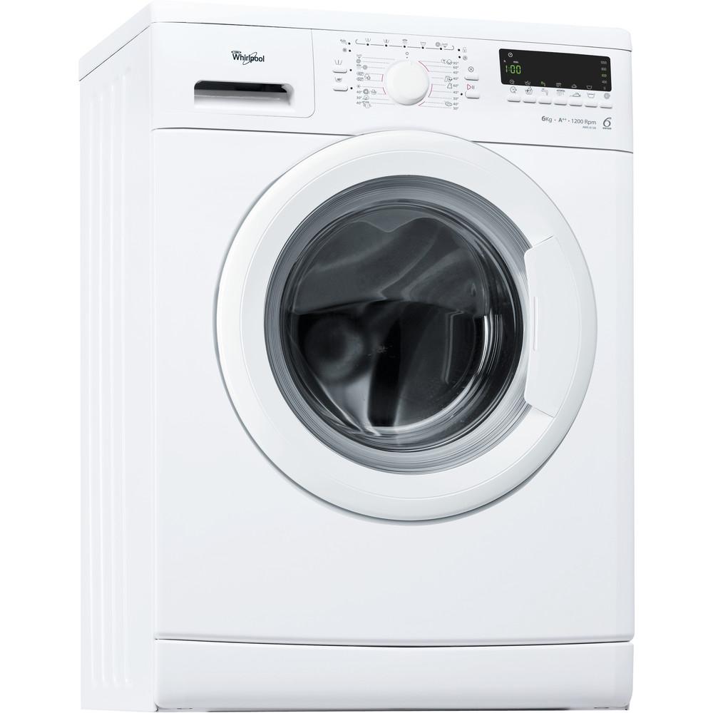 Whirlpool frontmatad tvättmaskin: 6 kg - AWS 6126
