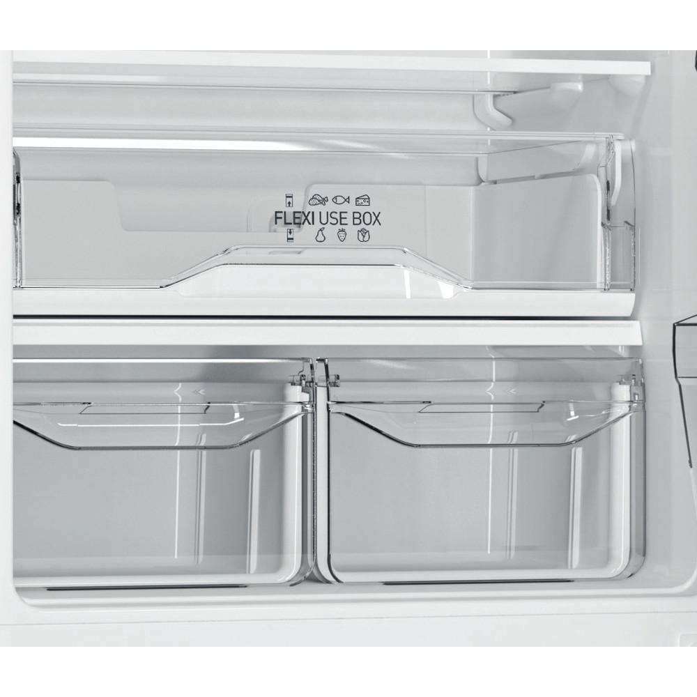 Indesit Холодильник с морозильной камерой Отдельностоящий DF 5201 X RM Inox 2 doors Drawer