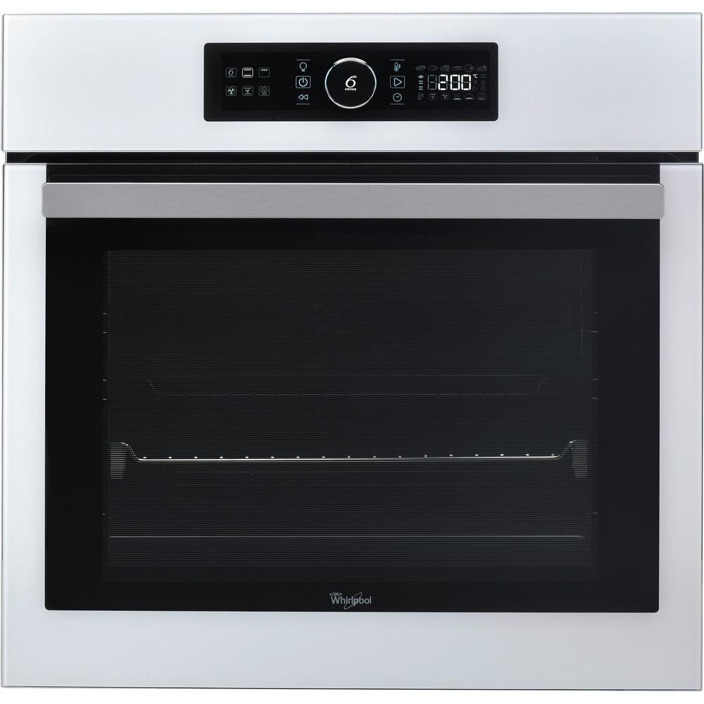 Whirlpool inbyggnadsugn: färg vit, självrengörande - AKZ 6270 WH