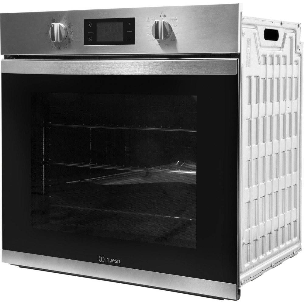Indesit OVEN Built-in KFW 3844 H IX UK Electric A+ Perspective