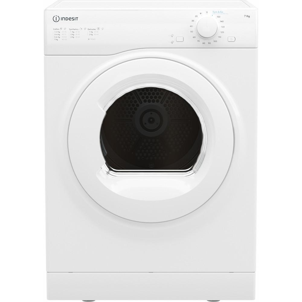 Indesit Dryer I1 D71W UK White Frontal