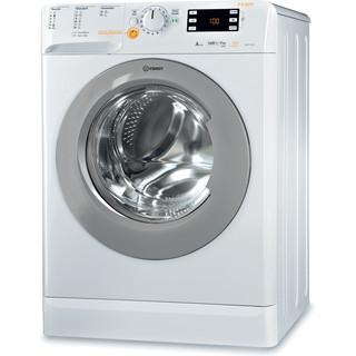 Fritstående kombineret Indesit vaskemaskine/tørretumbler: 9kg