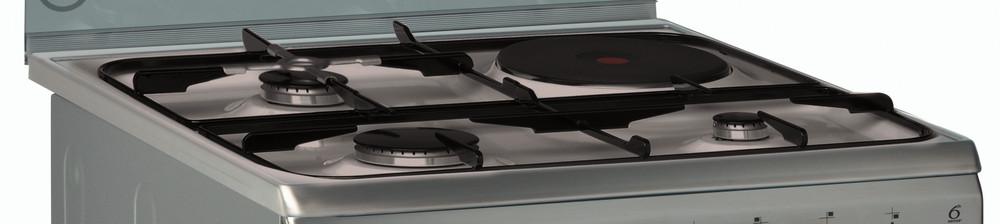 Whirlpool Κουζίνα ACMK 6433/IX Καθρέπτης / Inox Μικτή Perspective