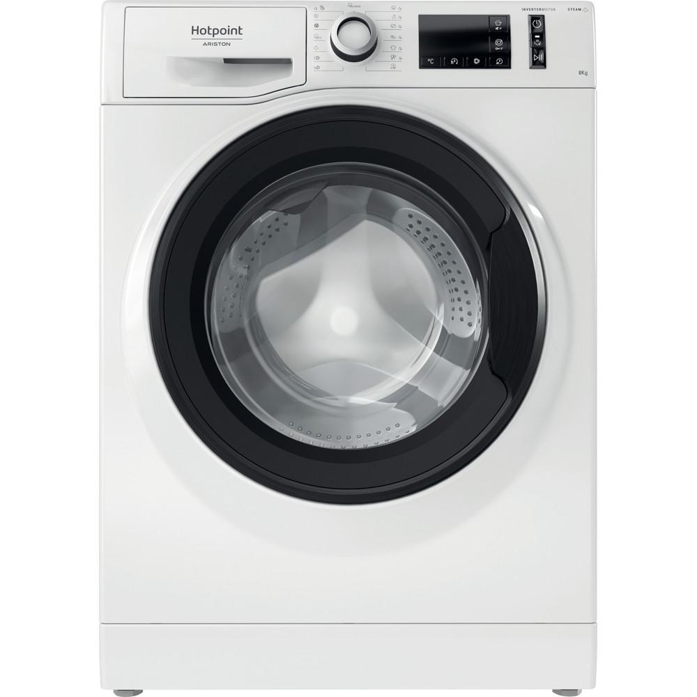 Hotpoint_Ariston Перална машина Свободностоящ NM11 823 WK EU N Бял Предно зареждане D Frontal
