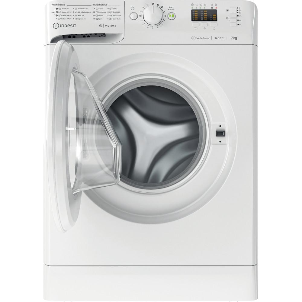 Indesit Tvättmaskin Fristående MTWA 71484 W EE White Front loader C Frontal open