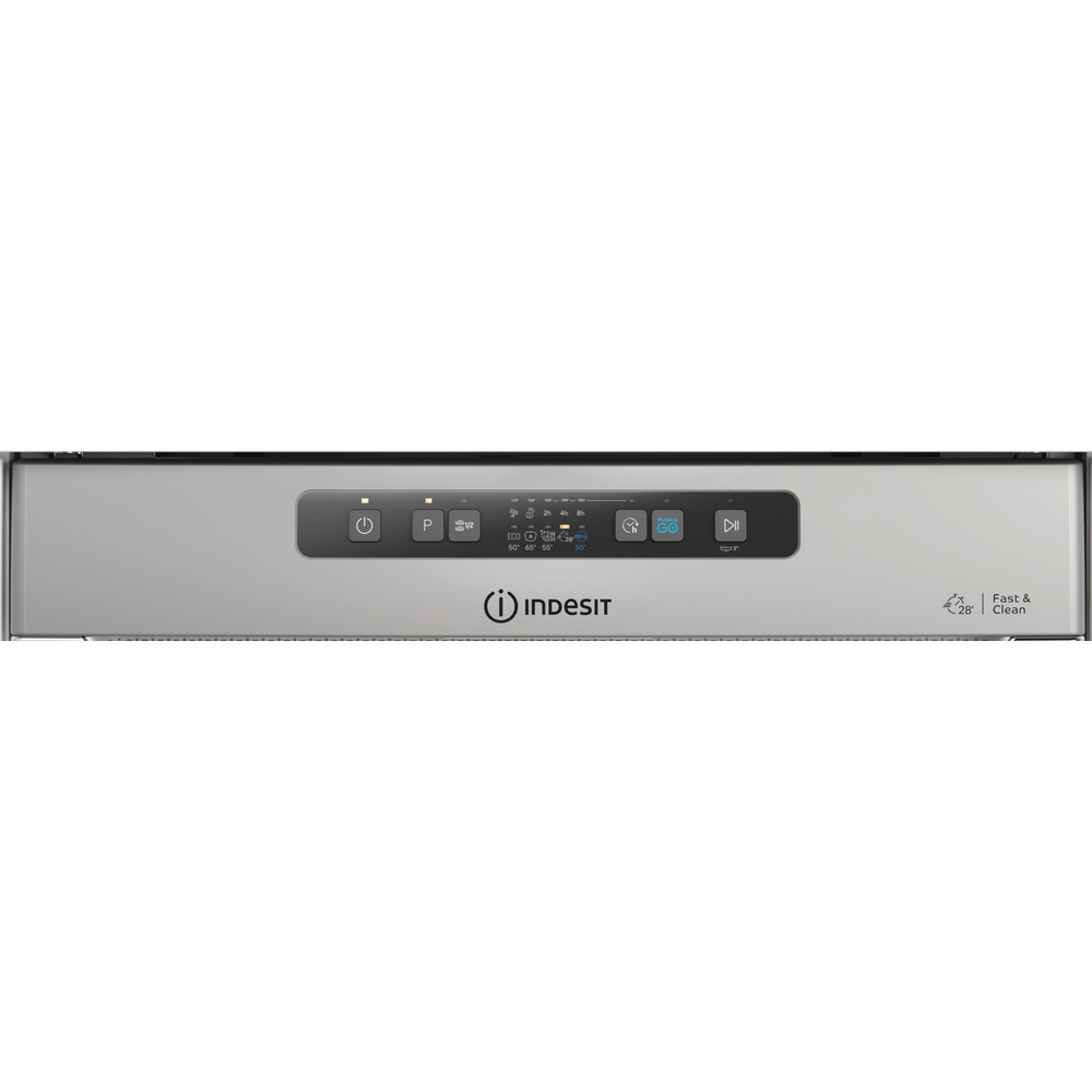Indesit Diskmaskin Inbyggda DUC 2C24 AC X Underbyggd E Control panel