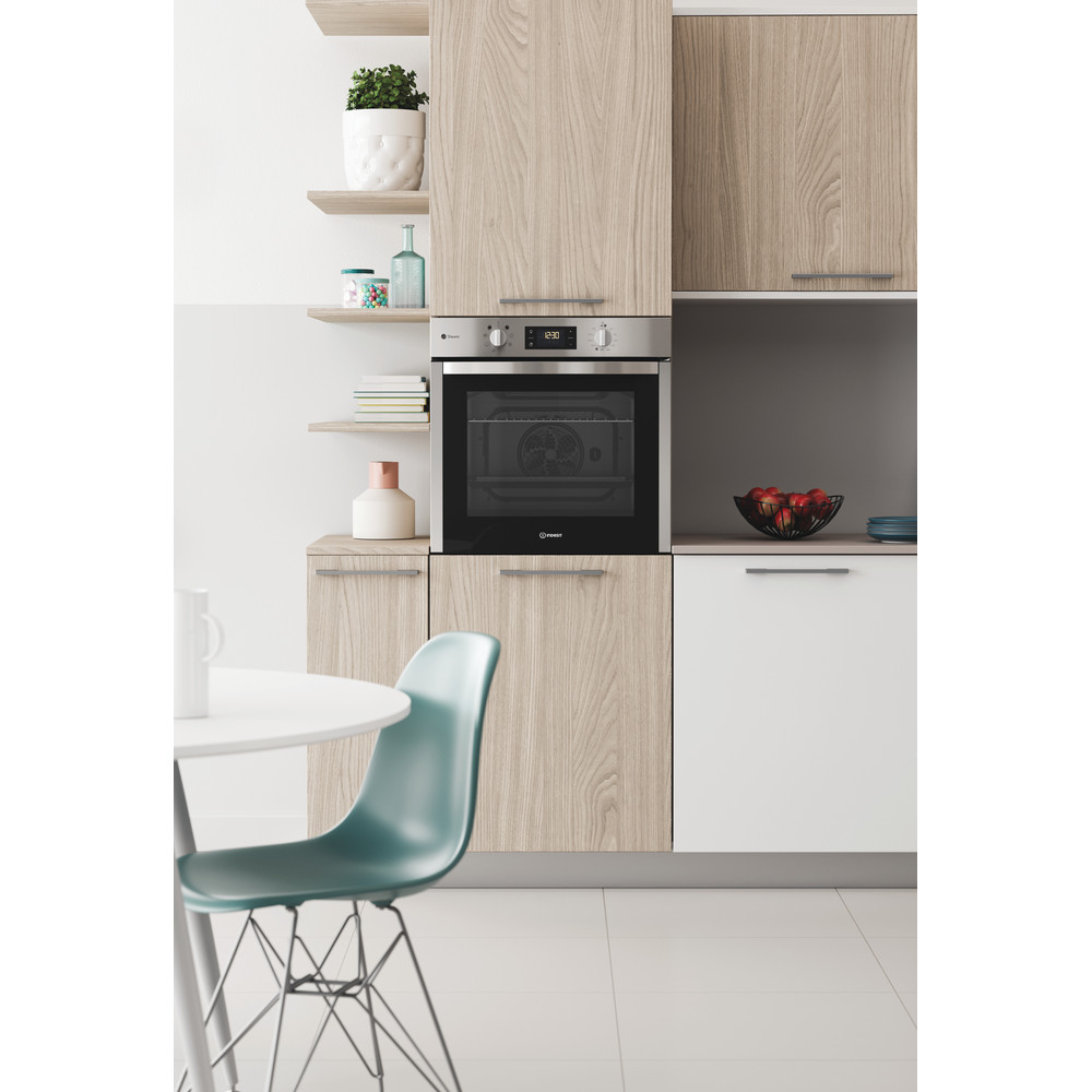 Indesit OVEN Built-in DFWS 5544 C IX UK Electric A Lifestyle frontal