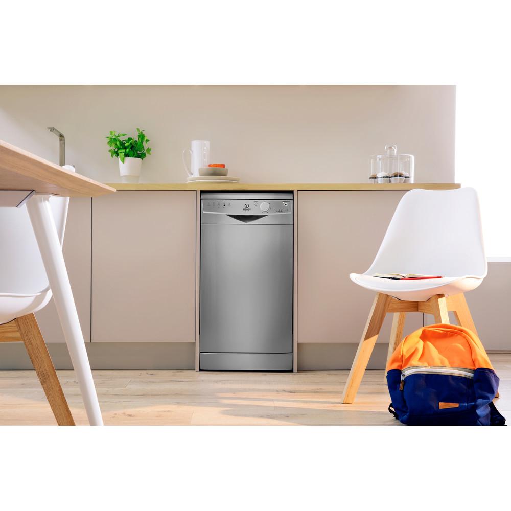 Indesit Посудомоечная машина Отдельно стоящий DSR 15B1 S EU Отдельно стоящий A Lifestyle frontal