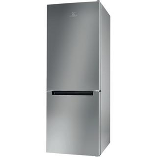 Indesit Külmik-sügavkülmik Eraldiseisev LI6 S1E S Hõbe 2 doors Perspective