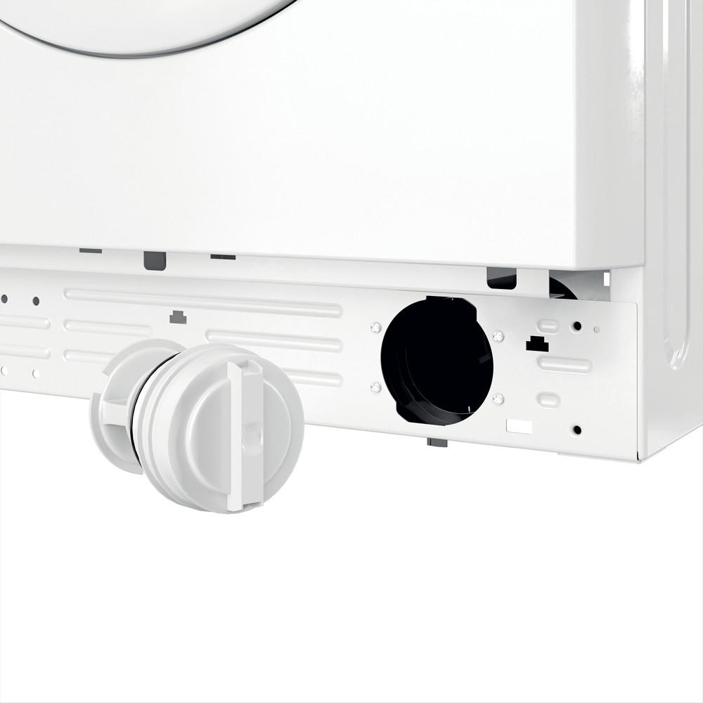 Indesit Waschmaschine Freistehend MTWA 71483E W DE Weiß Frontlader D Filter