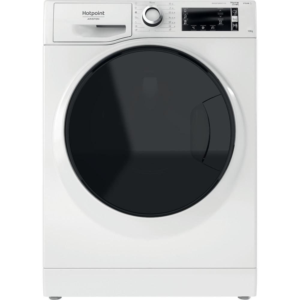 Hotpoint_Ariston Перална машина Свободностоящ NLCD 10448 WD AW EU N Бял Предно зареждане A+++ Frontal
