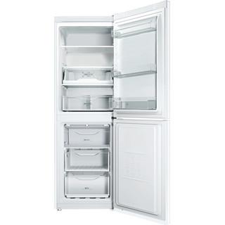 Indesit Комбиниран хладилник с камера Свободностоящи LI7 FF2 W Бял 2 врати Frontal open
