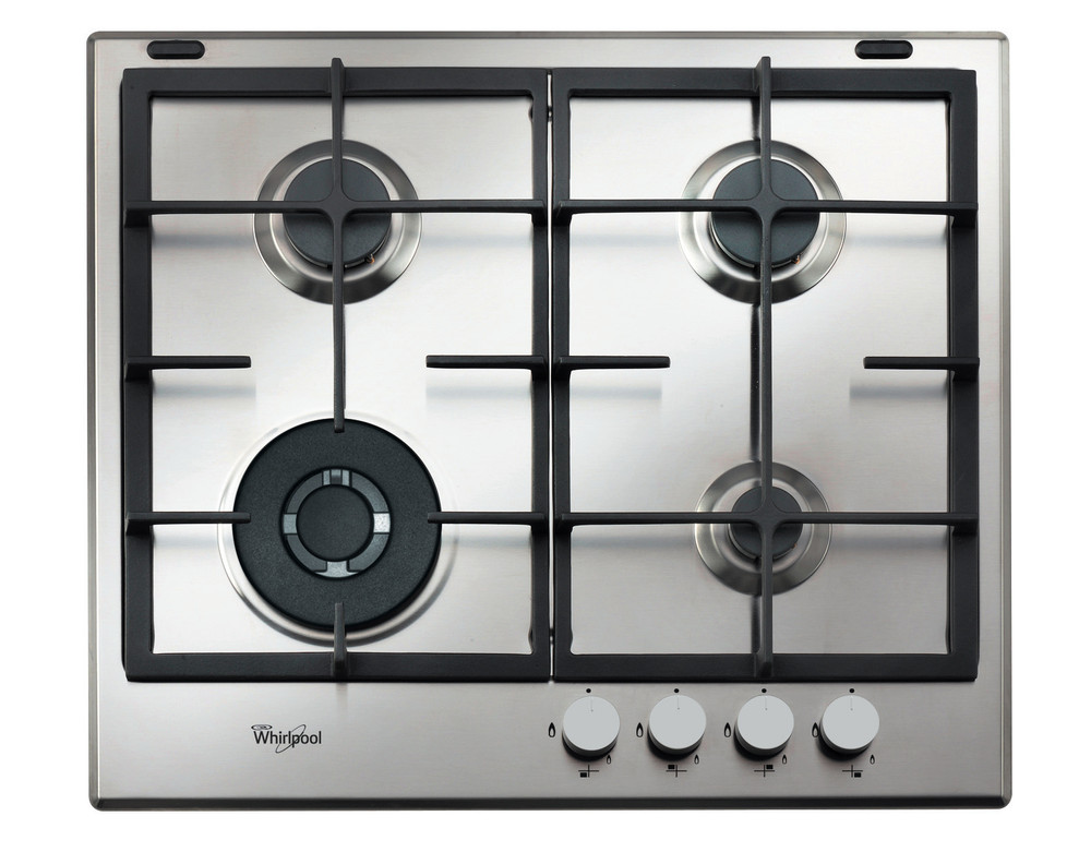 Whirlpool Hob GMA 6422/IX Inox Gas Frontal