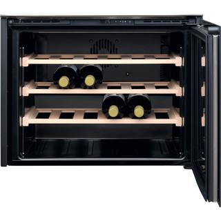 Whirlpool Armazenamento de vinho Independente W WC512 Inox Frontal open