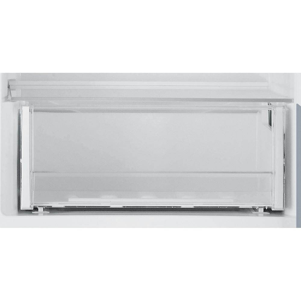Indesit Fridge Freezer Free-standing LR8 S1 S AQ UK.1 Silver 2 doors Drawer