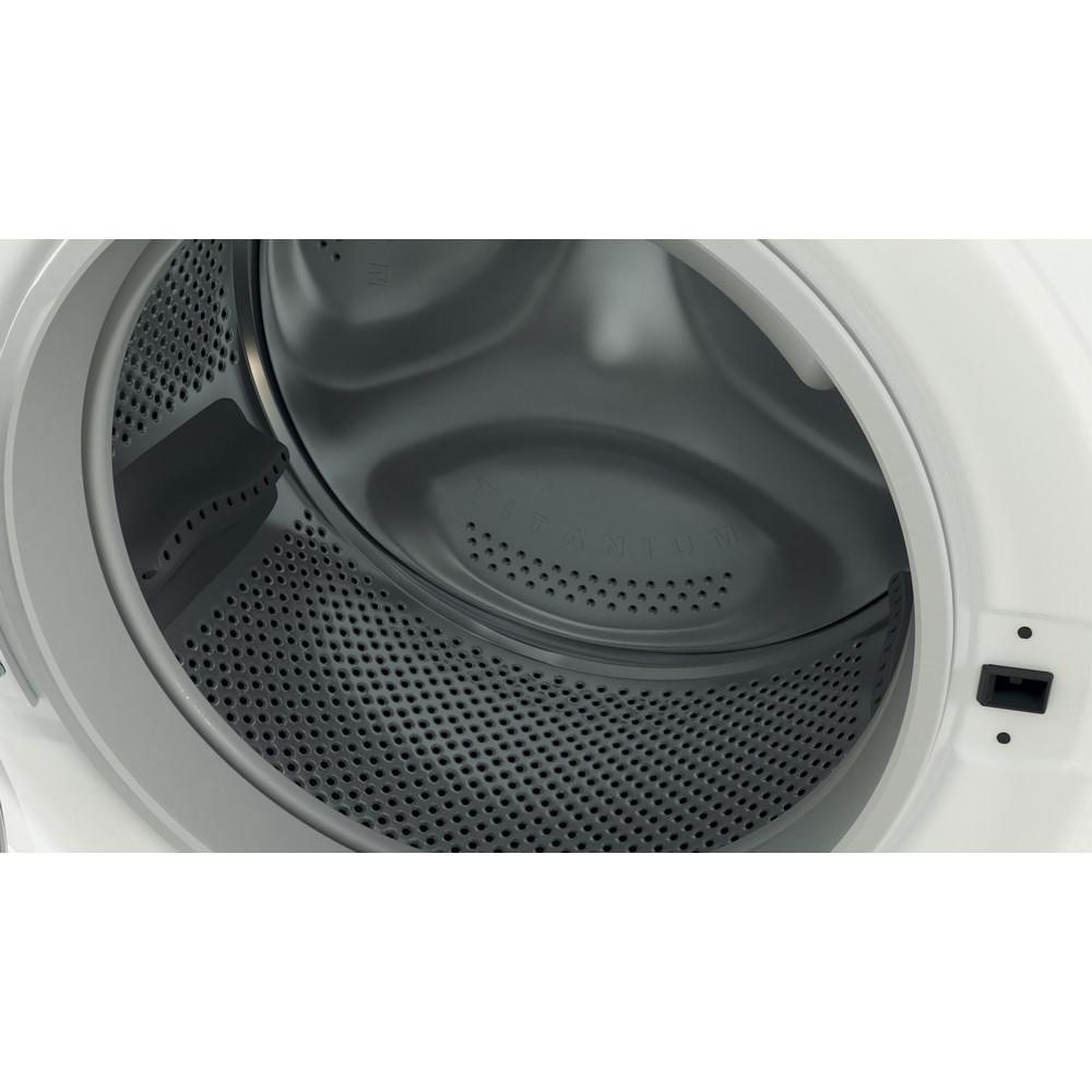 Indesit Washer dryer Free-standing BDE 1071682X W UK N White Front loader Drum